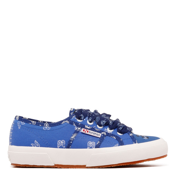 Superga blue bandana sneakers