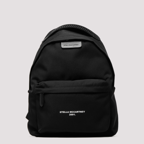 Black Go backpack with logo