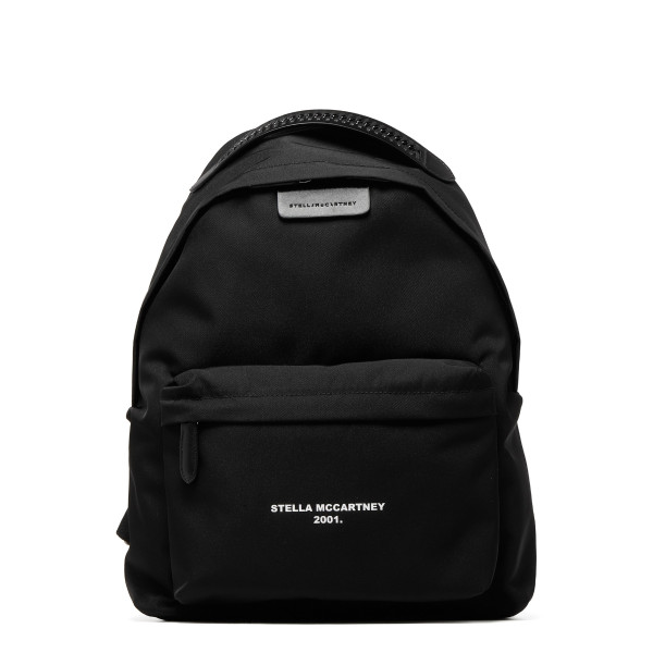 Black Go backpack with logo