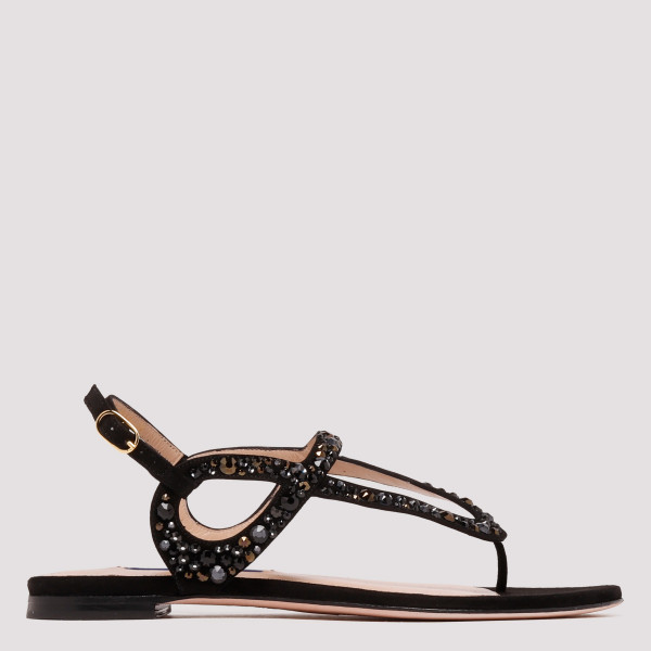 Allura suede crystals sandals
