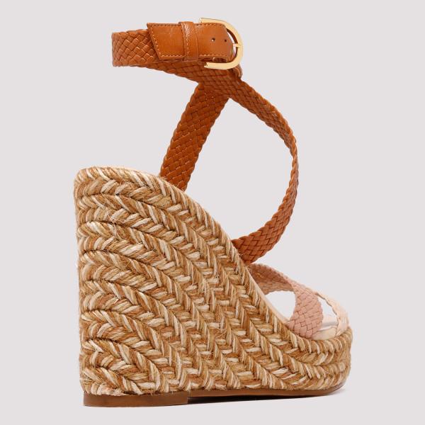 dd8c9b24d83 Elsie woven leather espadrille wedge sandals