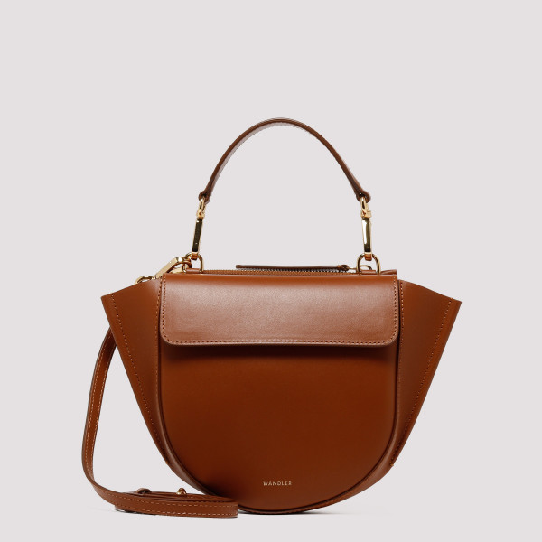 Tan Hortensia Mini Shoulder Bag