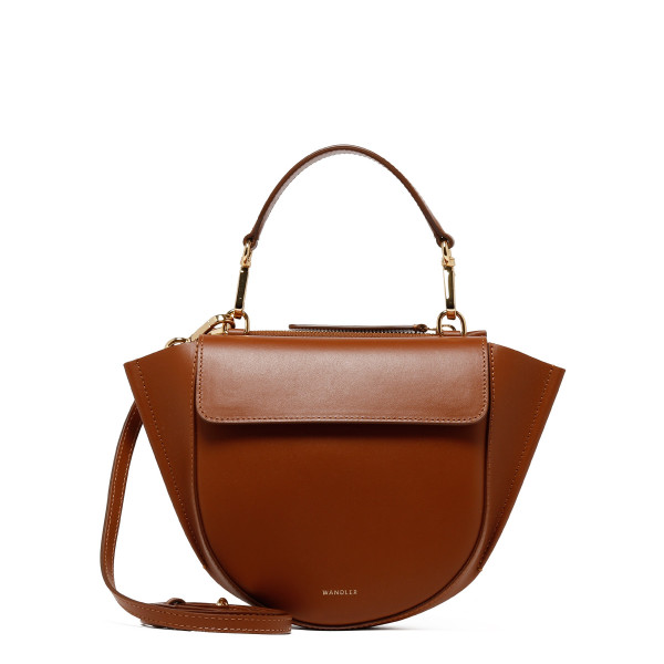 Tan Hortensia Mini Shoulder Bag