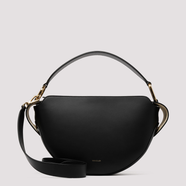 Black leather Yara bag