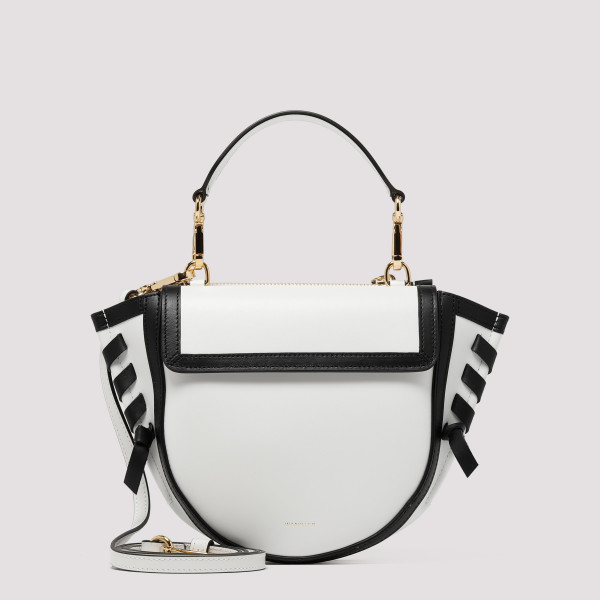 White and black Frame Hortensia Mini Shoulder Bag