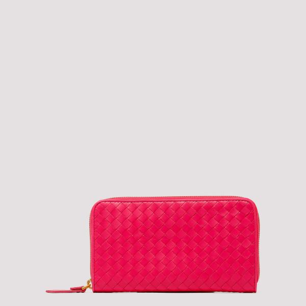 Neon pink Intrecciato...