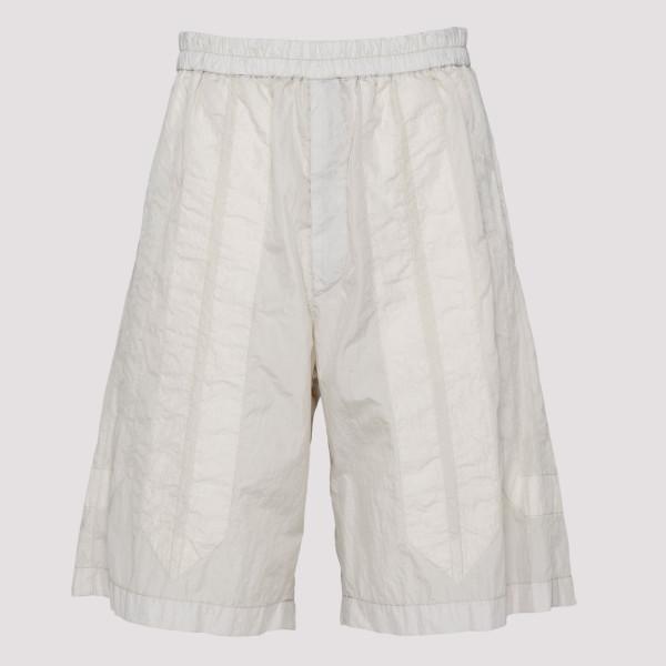 White bermuda pants