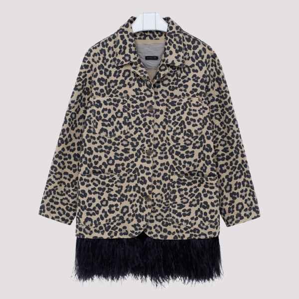 Animalier jacket with...