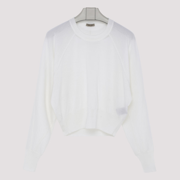 White wool top