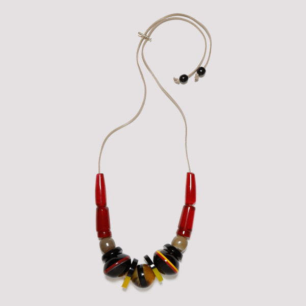 Multicolor beaded pendant...