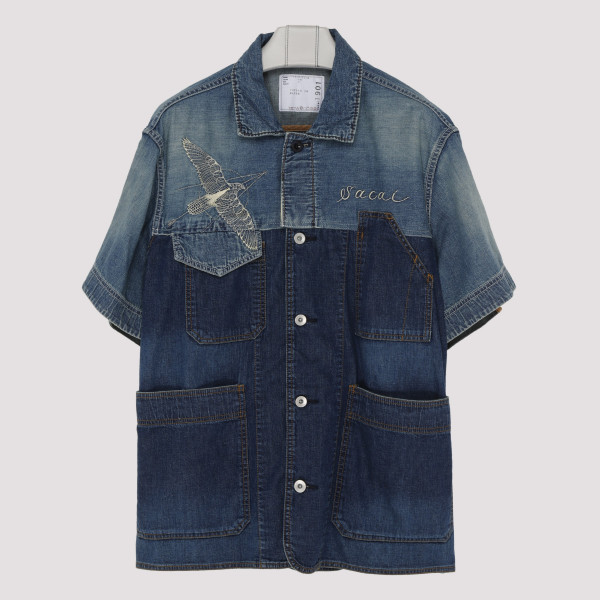 Dr. Woo Denim Shirt