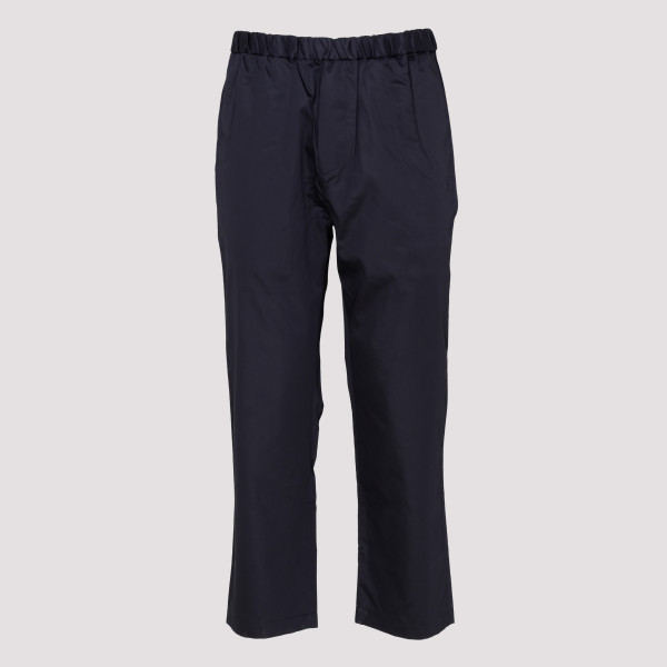 Blue elasticated pants