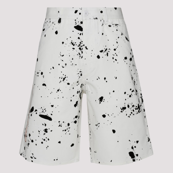 Black and white Splatter...