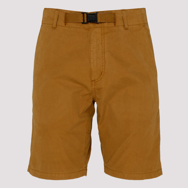 Tobacco cotton shorts