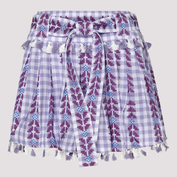 Light purple Ariana mini skirt