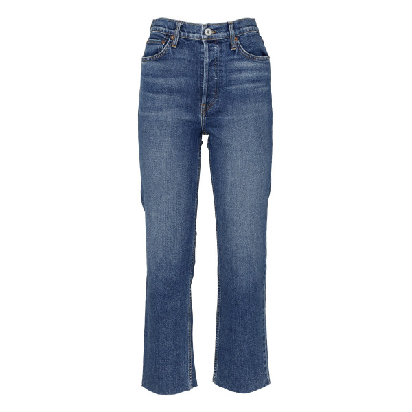 Mid blue comfort stretch jeans