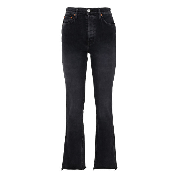 Black comfort stretch jeans
