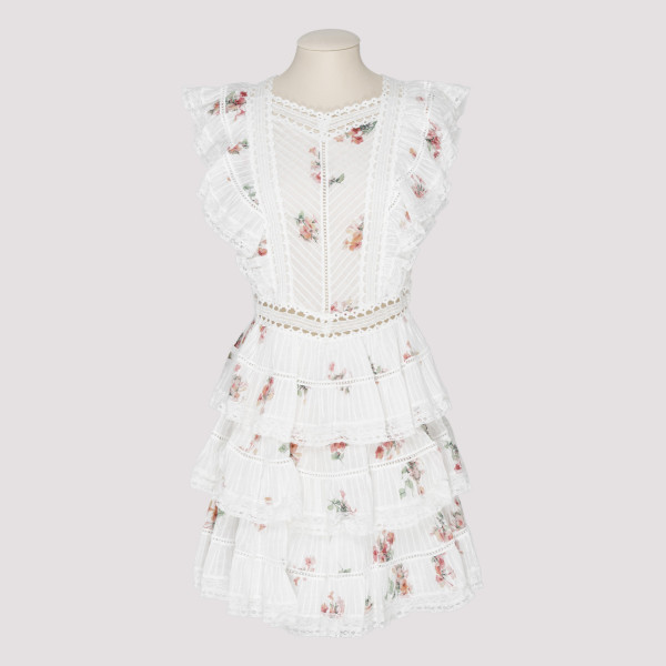 Heathers Pintuck Frill Dress