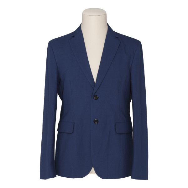 Dark blue soft blazer jacket