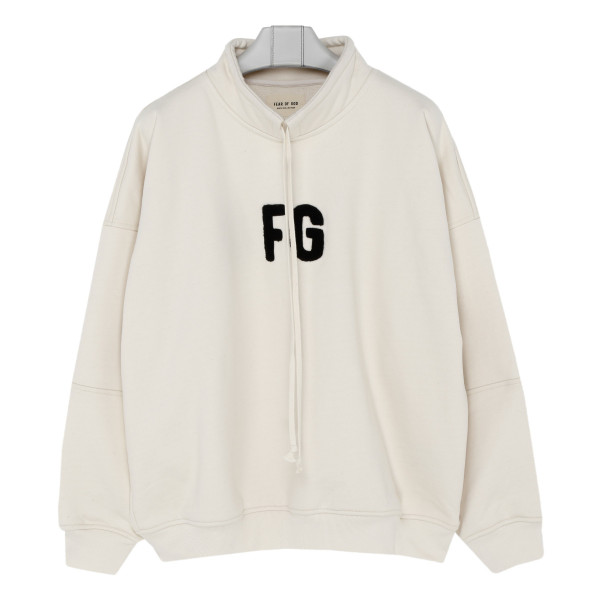 Logo patch off-white sweatshirt