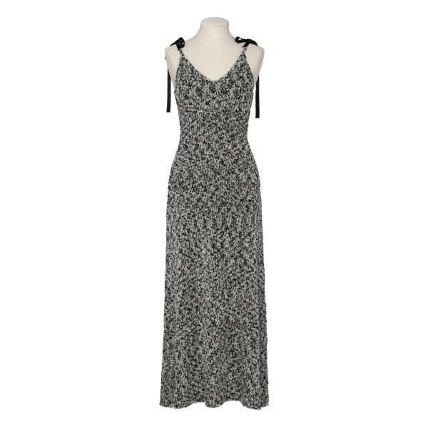 Light Grey Lurex Knit Dress