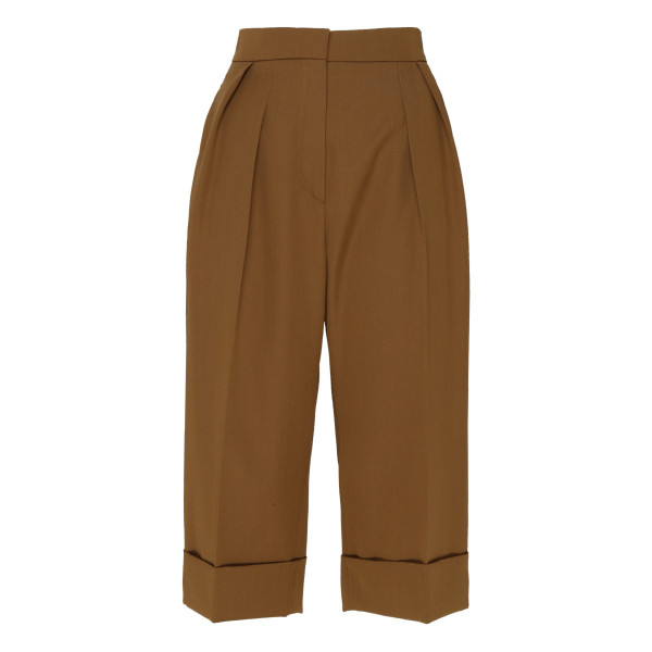 Capra tan bermuda pants