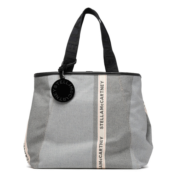 Patchwork small logo tote