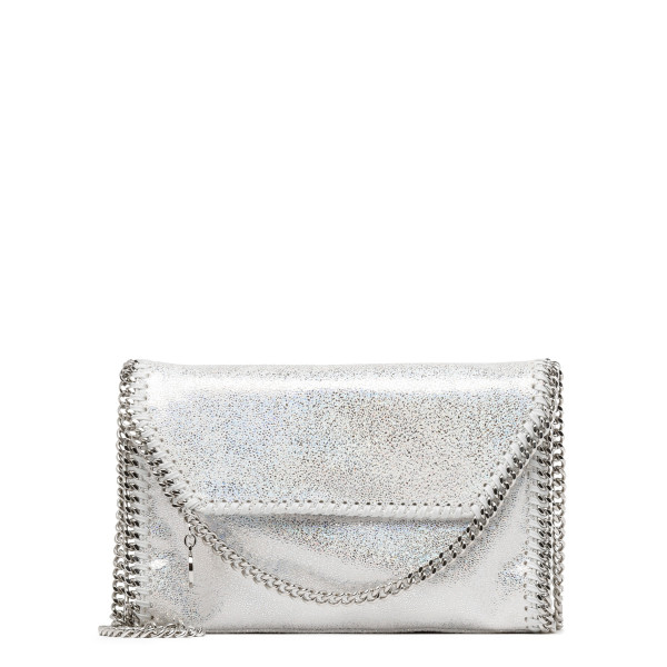 Falabella holo white shoulder bag