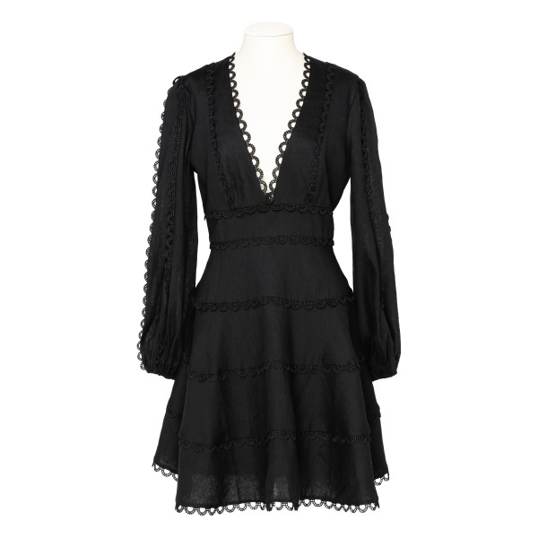 Heathers black mini dress