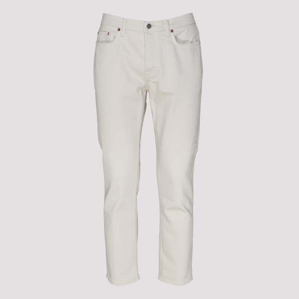 River ivory skinny fit jeans