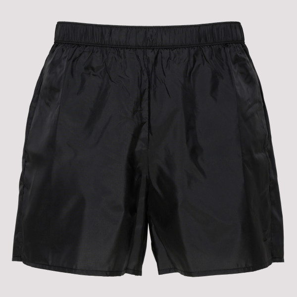 Warrick black swim shorts