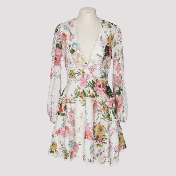Heathers floral mini dress