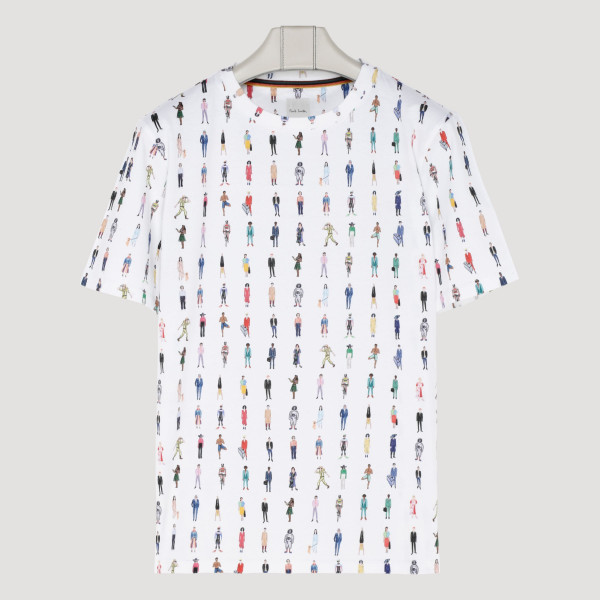 White cotton People T-shirt