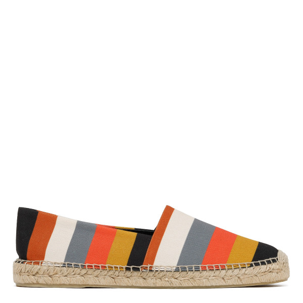 Bright Stripe Canvas 'Sunny' Espadrilles