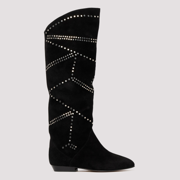 Black studded Ladra boots