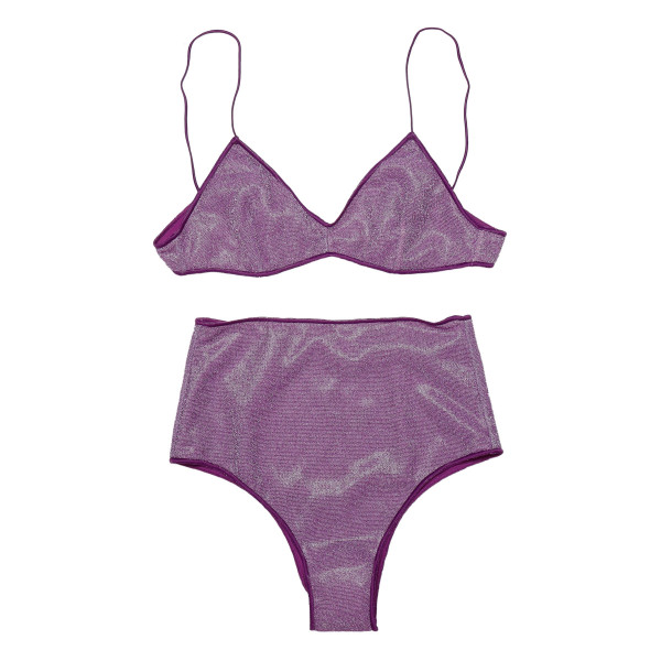 Purple Lumiere bikini set