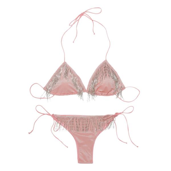 20s pink bikini set