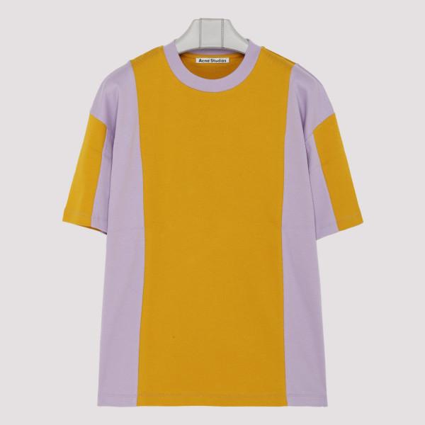 Purple and ocher cotton...