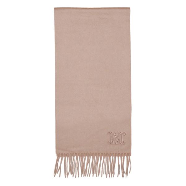 Dalia monogram fringed scarf