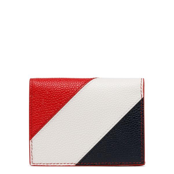 Bi-fold cardholder leather wallet