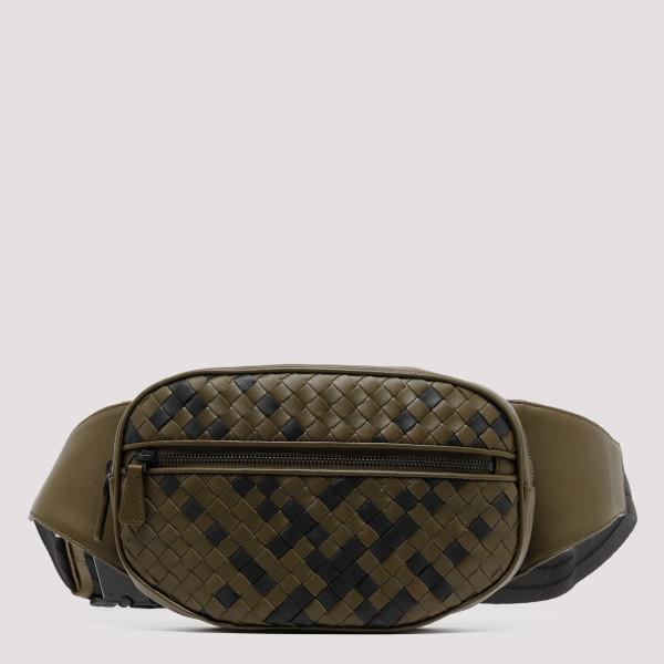 Intrecciato nappa leather...