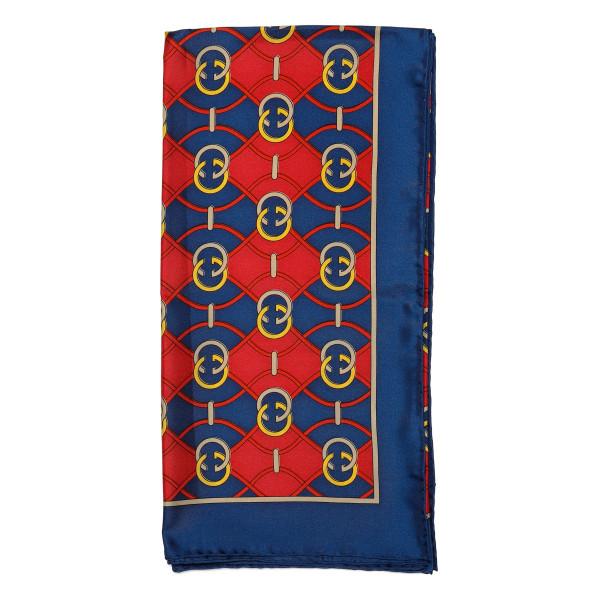 Interlocking G rhombus print scarf