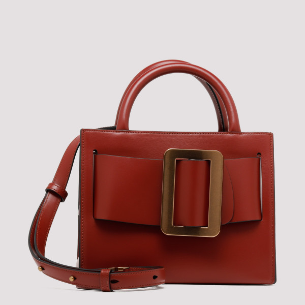 Bobby 23 brick leather handbag
