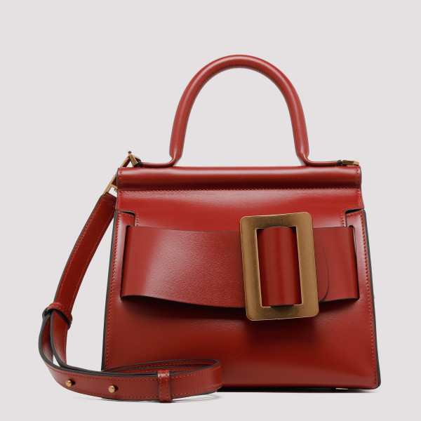 Karl 24 brick leather handbag