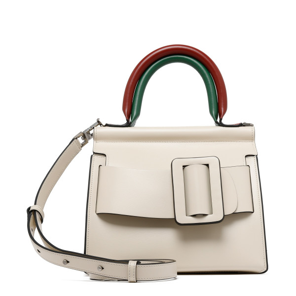 Karl 24 ivory double handle bag
