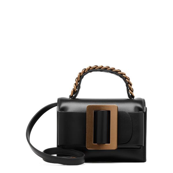 Fred black shoulder bag