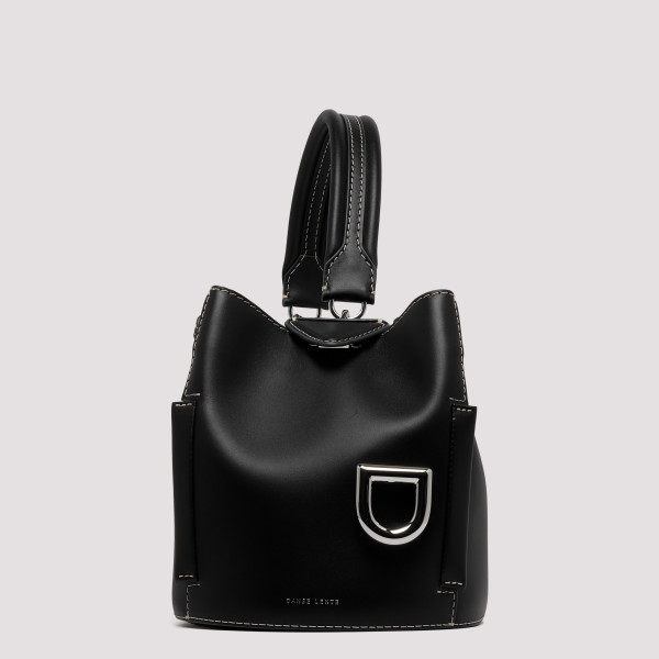Josh black leather handbag