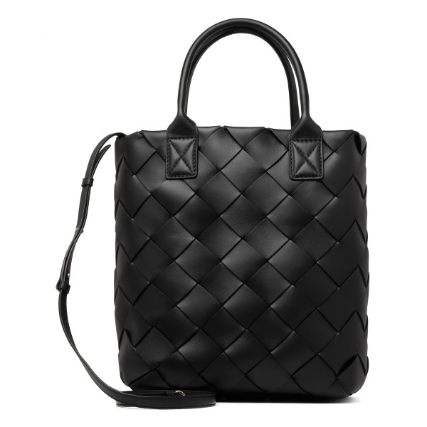 Black leather Maxi Cabat 30 bag