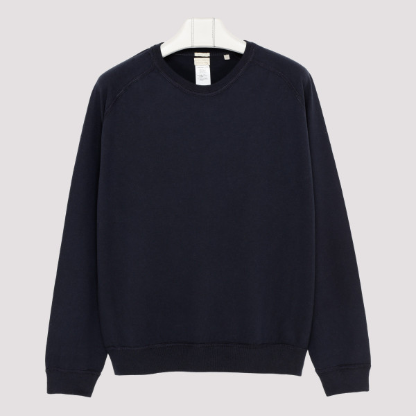 Navy cotton sweatshirt