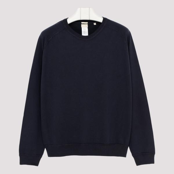 Navy cotton sweatshirt
